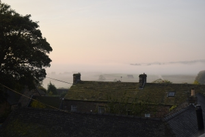 View from our Peak District cottage